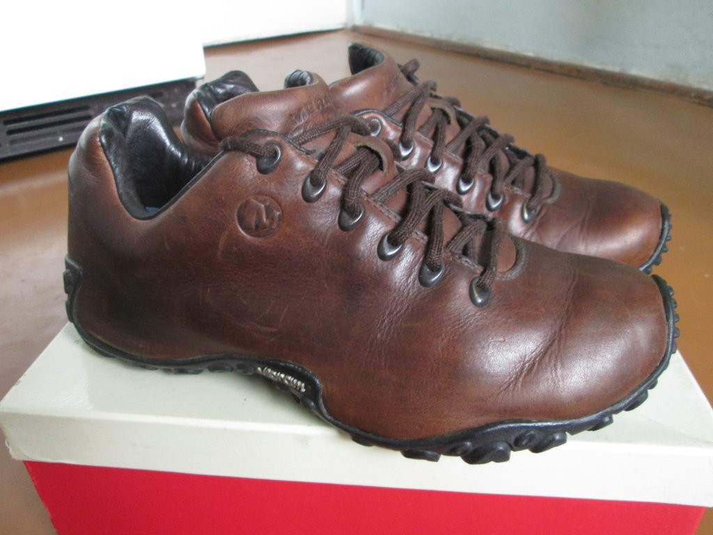 Мокасини-кросовки кожа Вібрам 41р коричневі