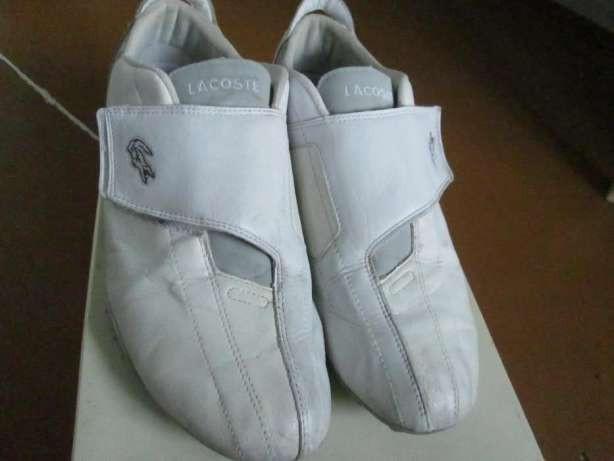 Мокасини кросовки ЛаКоста 44р білі