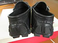 Мужские мокасини-КОЖА 44 суперлегкі чорні