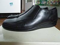 Мокасини женские 38.5р кожа чорні