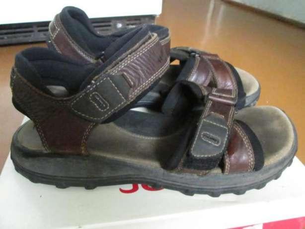 Мужские сандалі 44р кожаClarksТрек