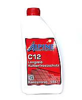 Охлаждающая жидкость / Антифриз Alpine C12 (концентрат) 1,5л