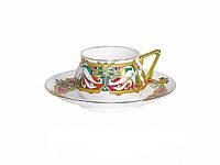 Набор чашка кофейная с блюдцем И.Ф.З. Билибина Сказочные птицы 16211