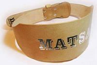 Пояс штангиста Matsa, кожа