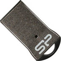 Флеш память 16GB USB2.0 Silicon Power Touch T01 Black (SP016GBUF2T01V1K)