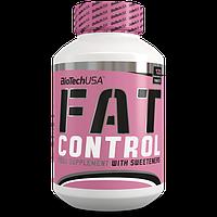 Жиросжигатели BioTech Fat Control (120 tabs)