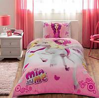 Комплект детского постельного белья TAC Disney Mia&Me (односпальное)