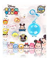 Набор фигурок Disney Tsum Tsum - 5 игрушек и брелок