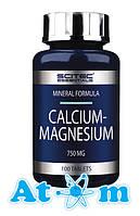 Витамины и Минералы - Calcium - Magnesium - Scitec Nutrition - 100 капс