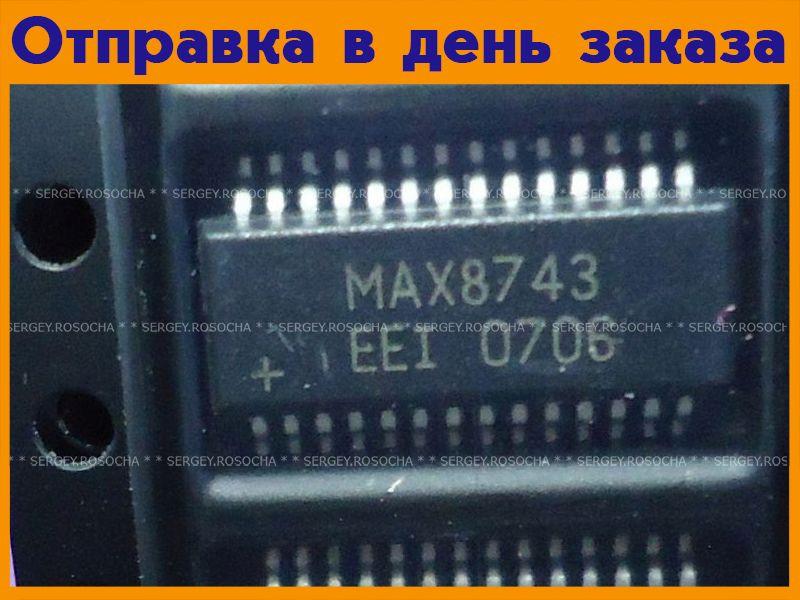 Микросхема MAX8743EEI  #201