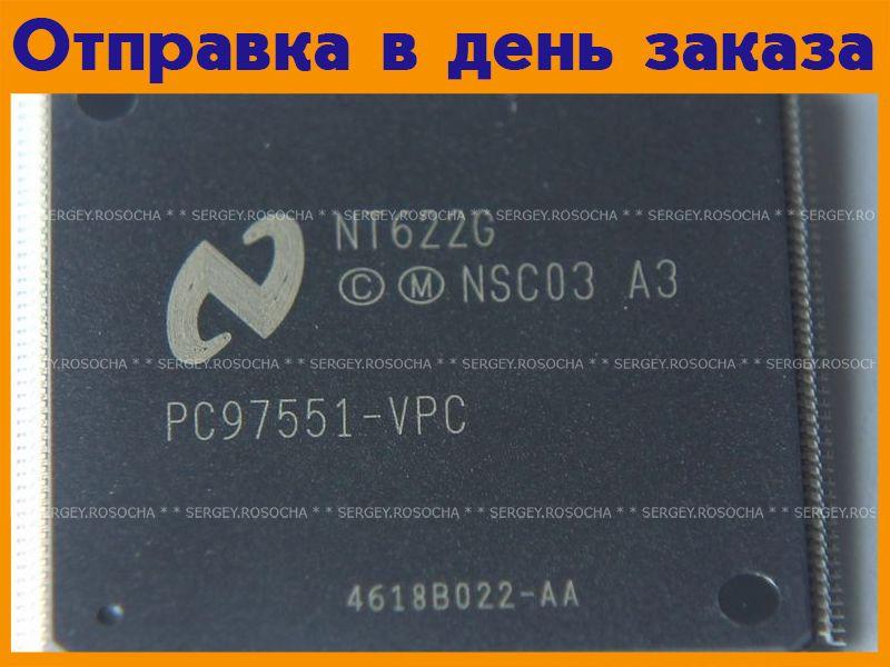 Микросхема PC97551-VPC  #1207