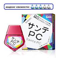Sante PC глазные капли для работы за монитором компьютера, экраном ноутбука и смартфона