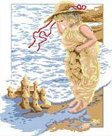 """Набор алмазной живописи (квадратные, полная) """"Замок из песка"""" Dream Art 30009"""