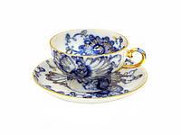 Набор чашка чайная с блюдцем И.Ф.З. Шатровая Поющий сад 10298