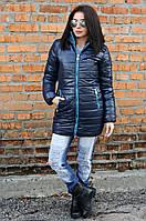 Куртка зимняя снежинка 1000 (2 цвета), женская зимняя куртка, пуховик, от производителя, дропшиппинг