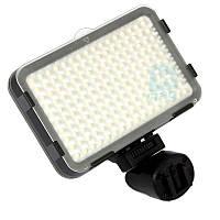 Накамерный светодиодный свет Shoot XT-160, 5500K (3200K/фильтр).