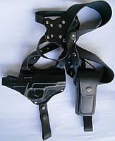 Кобура оперативная, двухсторонняя для пистолета Форт-12 + чехол под магазин