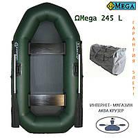 Надувные лодки пвх Omega Ω 245 L (двухместная гребная лодка с поворотными уключинами)