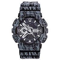 Часы G-Shock - 110GB - black energy +бокс (копия)