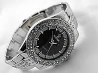 Часы женские Rolex - silver@black (копия)