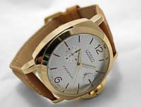 Мужские часы Panerai Luminor Marina - gold (repl)