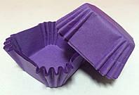 """Форма для маффинов """"Пурпурные"""" (квадрат) (код 05151)"""