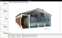 Приложение SCADA-системы ОВЕН для управления микроклиматом свинокомплекса