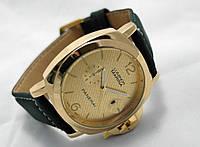 Мужские часы Panerai Luminor MARINA gold@black
