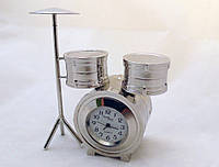 Часы NEW DAY в виде барабанной установки