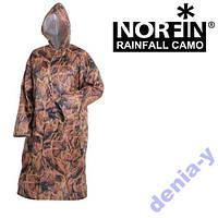 Дождевик плащ NORFIN RAINFALL CAMO защита от дождя