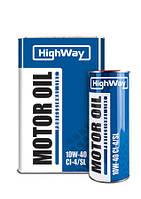 Моторное масло HighWay 4Т 10W40 1л SG JASO-МА пс