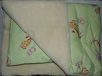 """Одеяло на меху с подушкой """"Жираф"""". Украина"""