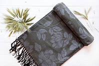Серый модный палантин от производителя