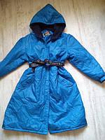 Пальто Япония деми 10-12 лет На полную девочку