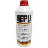 Антифриз HEPU G12 красный (-80С) 1,5л