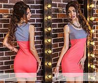 """Стильное молодежное платье мини """" Тенниска """" Dress Code"""