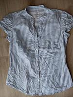 Блузка-рубашка жабо 44-46 р.