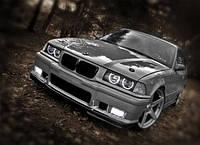 Глаза ангела на разные автомобили—цвет белый.