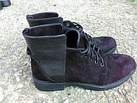 Ботинки женские модные стильные на низком ходу, оригинальные женские ботинки весна осень