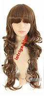 Парик длинные волосы волна Русый