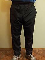 Спортивные штаны мужские плащевка на подкладке батал