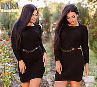 Женское  вязаное платье ДГ р3810-NW