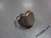 """Кольцо печатка перстень серебро 925"""" 6,14 г"""