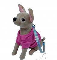 FUZZY NATION - Сумочка Chihuahua в розовом свитере