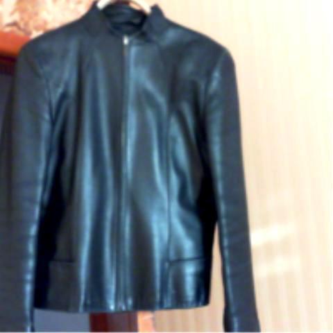 Куртка кожаная короткая р 44 (наш)
