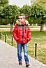 Куртка детская на мальчика с мехом теплая