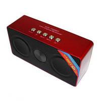 Портативная bluetooth колонка MP3 WS-768BT Red
