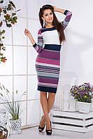 Платье женское полоска