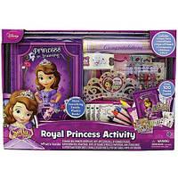 Sofia Royal Princess Activity София Прекрасная набор для девочки кейс