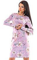 Платье женское цветы